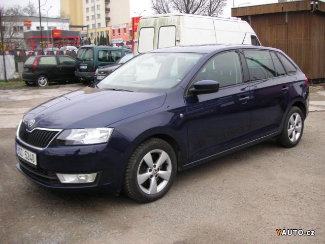 Škoda Rapid 1.6 TDi hatchback