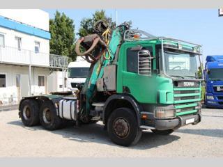Ostatní P 124 420, 6x6, RETARDÉR pro přepravu dřeva nafta