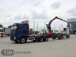 Ostatní FH 480, 6x4, PENZ CRANE (2011) pro přepravu dřeva nafta