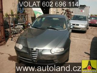 Alfa Romeo 147 2001, 1910 ccm, 85 kW, nafta hatchback nafta