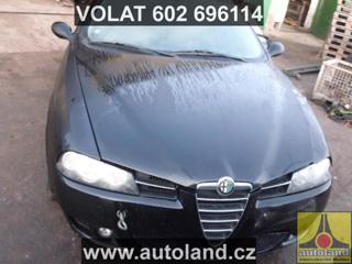 Alfa Romeo 156 1900 ccm, 103 kW, nafta kombi nafta