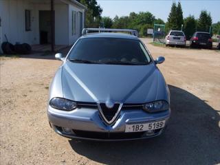 Alfa Romeo 156 2,4 JTD klima nové ČR kombi nafta