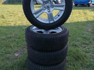 Ostatní 225/55 R16 zimní sada Alu + pneu
