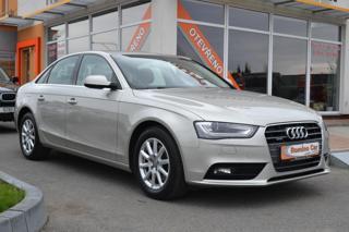 Audi A4 2.0TDi Quattro,Původ ČR,S.kniha sedan
