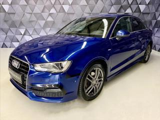 Audi A3 2,0 TDI 110KW S-LINE,ACC,NAVIGACE,NEZÁVISLÉ sedan nafta