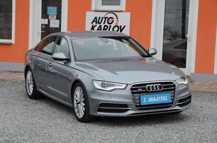 Audi S6 4.0 V8 T QUATTRO /ČR/1.MAJ. limuzína
