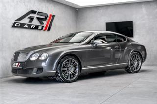 Bentley Continental GT SPEED W12 449kW Masaže Naim  OV kupé benzin
