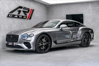 Bentley Continental GT W12 Mulliner, Naim, otočný display, blackline kupé benzin