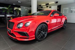Bentley Continental GT 6,0 Supersports / Naim / Breitling  IHNED kupé benzin