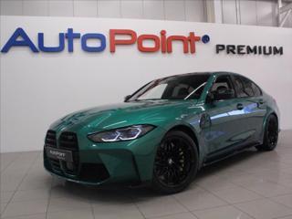 BMW M3 3,0 Competition Laser Carbon HUD sedan benzin