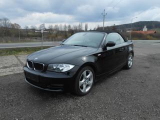 BMW Řada 1 118 2.0 D 105kW Digikl. Serviska kabriolet