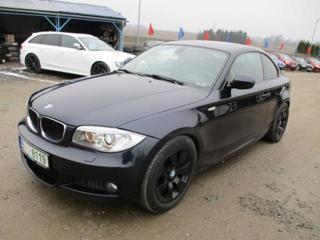 BMW Řada 1 2.0 coupé kupé nafta