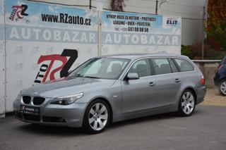 BMW Řada 5 525d 130kW+KŮŽE+VELMI ZACHOVALÝ kombi