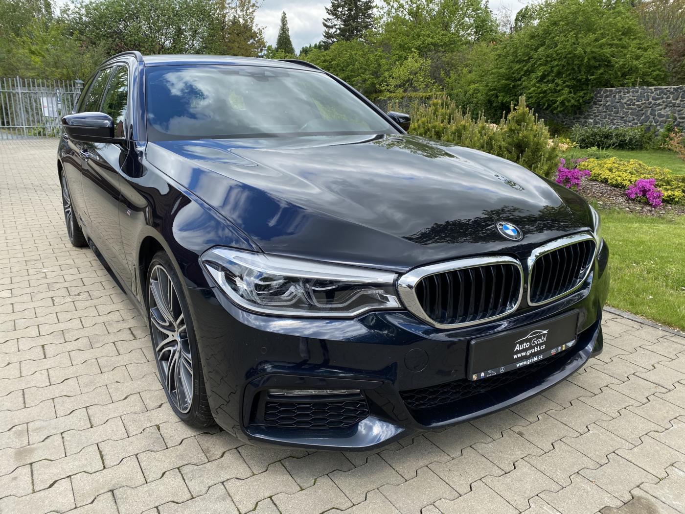 BMW Řada 5 540d xDrive M sport kombi