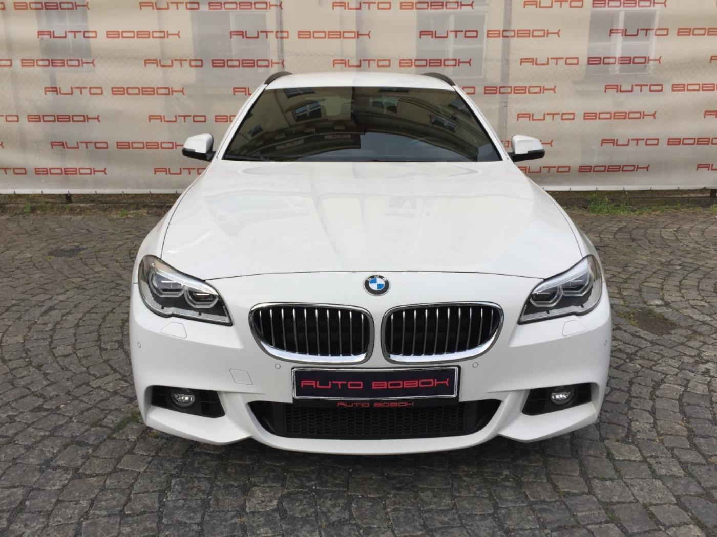 BMW Řada 5 520d xDrive M-Sport,CZ,kůže,LED kombi