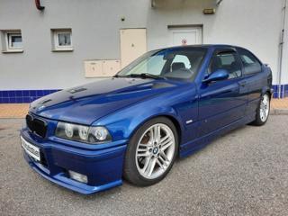 BMW Řada 3 323Ti Compact orig. M-Paket kupé benzin