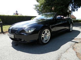 BMW Řada 6 645Ci Cabrio, Kůže, Navi,42tis. Km. kabriolet