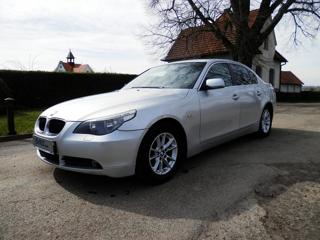 BMW Řada 5 520i, 1.maj. ČR DPH, 144tis. Km. sedan