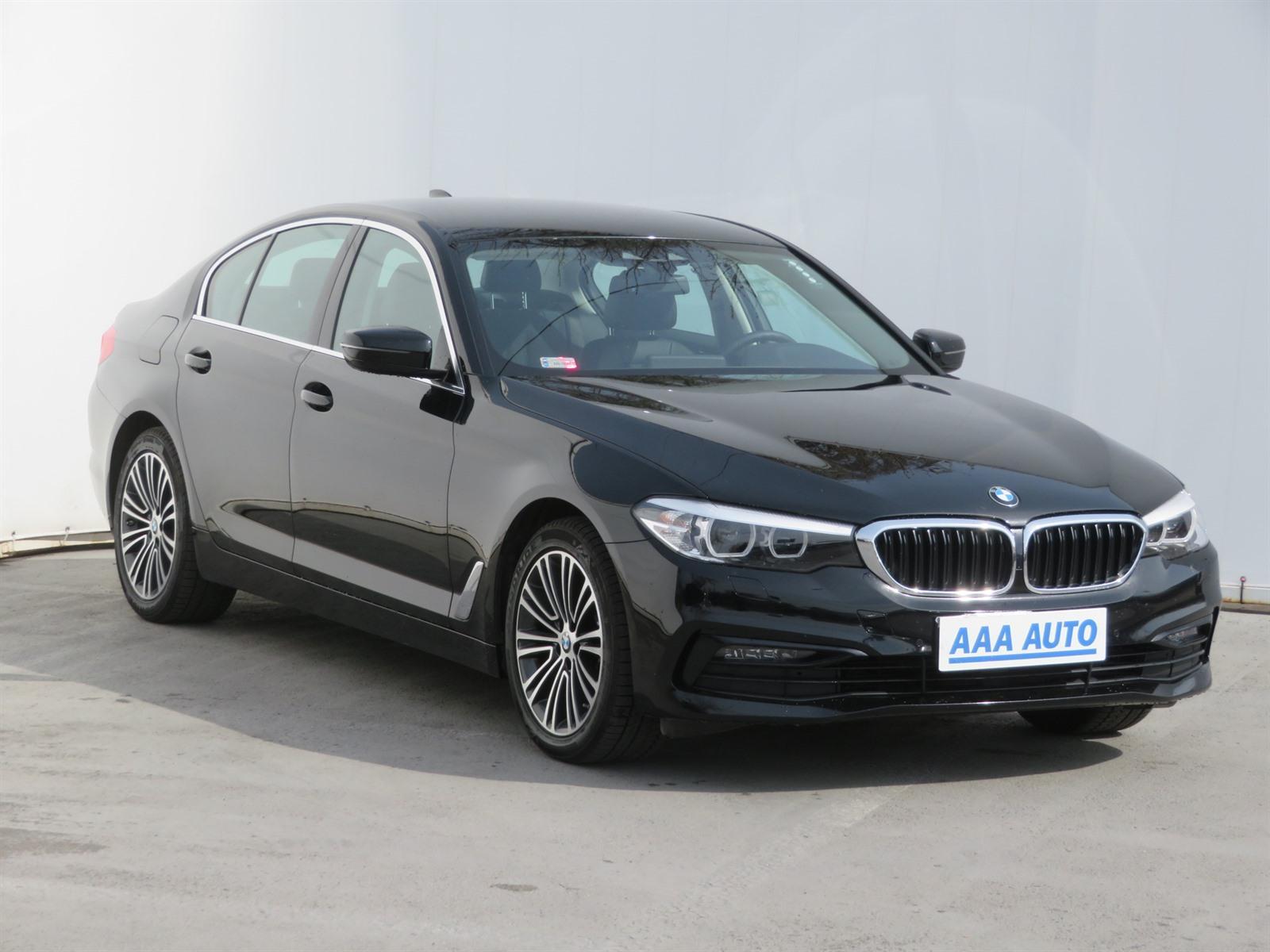 BMW Řada 5 518 d 110kW sedan nafta