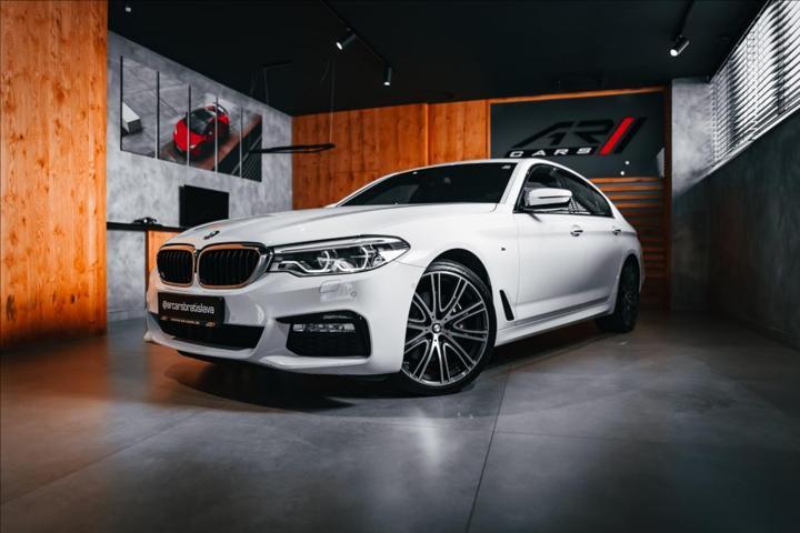 BMW Řada 5 3,0 530d xDrive, M Sport, LED, SOFT-CLOSE  BR sedan nafta