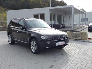 BMW X3 3,0 D,KŮŽE,KLIMA,NAVI,TAŽNÉ kombi nafta