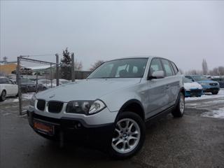 BMW X3 2,0 X DRIVE  MANUÁL SUV nafta