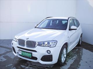 BMW X3 3,0 d XDrive,Nezávislé topení,1 majitel,koup. v ČR SUV nafta