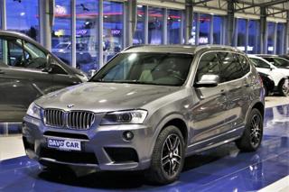 BMW X3 2,0 d CZ 1.Maj. DPH M-paket SUV nafta