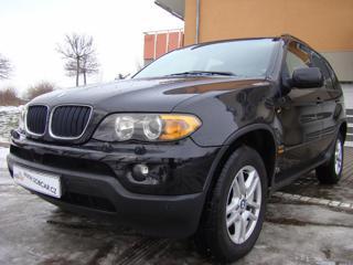 BMW X5 3.0D 1.MAJ. ČR KLIMA MANUÁL SUV