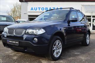 BMW X3 3,0 d  ČR, 4x4, A/T, XENONY SUV nafta