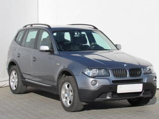 BMW X3 2.0 D, Serv.kniha, ČR SUV nafta