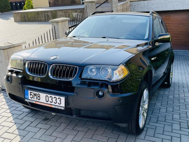 BMW X3 3,0D 150kW Koup.ČR,TAŽNÉ SUV nafta