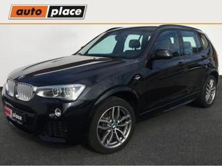 BMW X3 3.0d xDrive M paket 190kW CZ SUV nafta