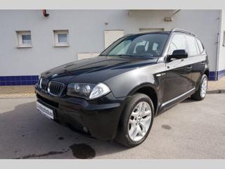 BMW X3 3.0 d terénní nafta