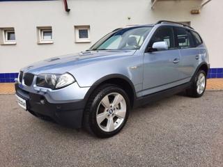 BMW X3 3,0i Kůže, automat terénní benzin