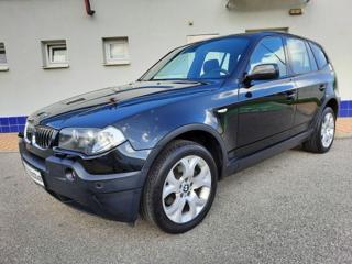 BMW X3 2,5i SPORT Manuál, xenony terénní benzin