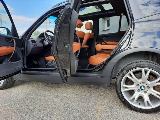 """BMW X3 3,0d + 19"""" + GO převodovky terénní nafta"""