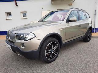 BMW X3 2,5si NAVI,KŮŽE,TOP STAV terénní benzin