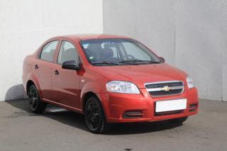 Chevrolet Aveo 1.4 ECOtec, Serv.kniha, ČR sedan benzin