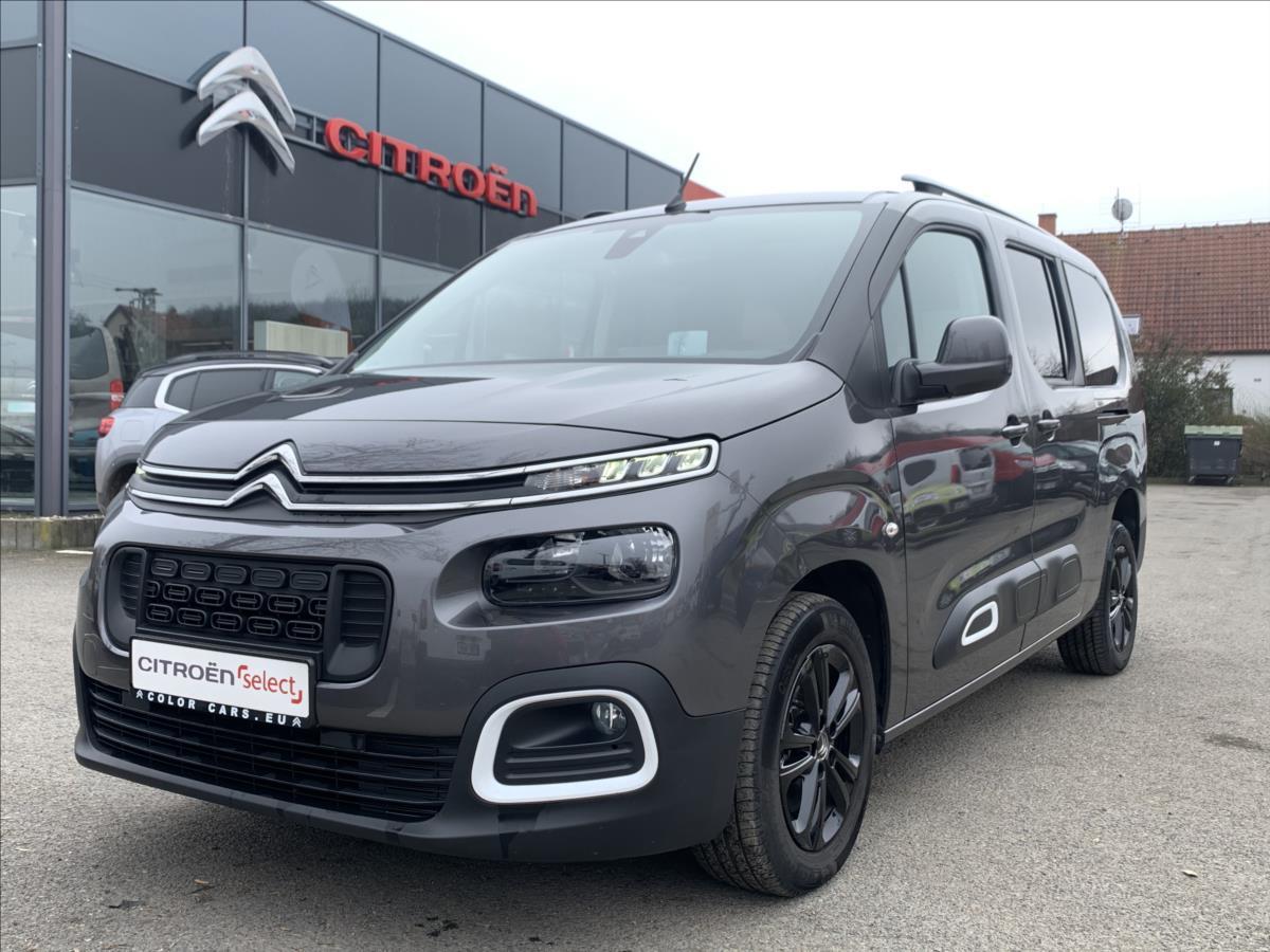 Citroën Berlingo 1,5 BHDi 96kW EAT8 XL Shine kombi nafta
