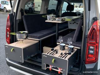 Citroën Berlingo 1,5 BHDi XL Spací vestavba VISU 96kW MAN6 FEEL PACK MPV nafta