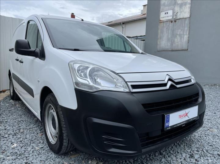 Citroën Berlingo 1,6 HDI,3-místa,původ ČR,1.Maj skříň nafta