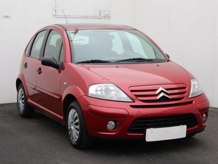 Citroën C3 1.4, Serv.kniha, ČR hatchback benzin