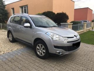 Citroën C-Crosser 2.2 HDI - 1. Majitel, 7 míst SUV