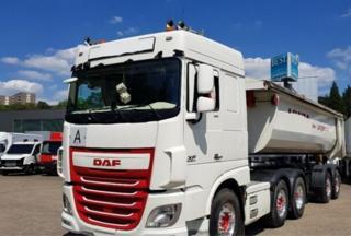 DAF XF 510 6x2 hydraulika EURO 6 tahač
