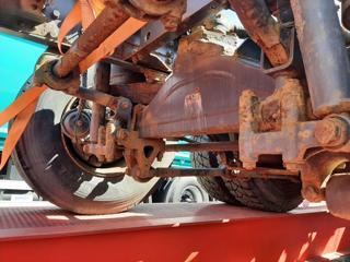 DAF CF85.410 6x2, náprava vlečená podvozek