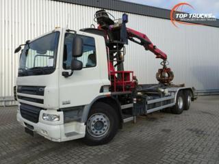 DAF FANCF75310 HNK 6x2 +HR pro přepravu kontejnerů