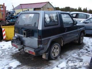 Daihatsu Feroza 1,6i pouze díly SUV