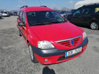 Dacia Logan MCV 1,6 MPI  LPG kombi