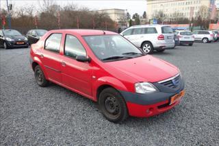 Dacia Logan 1,4 i 55KW, ČR, 1 MAJITEL. sedan benzin